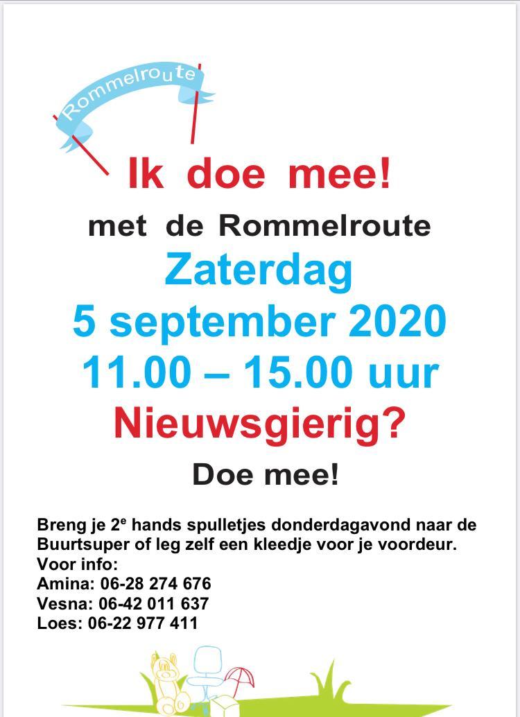 Rommelroute Stedenwijk